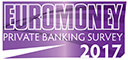 Logo Euromoney private banking survey 2017