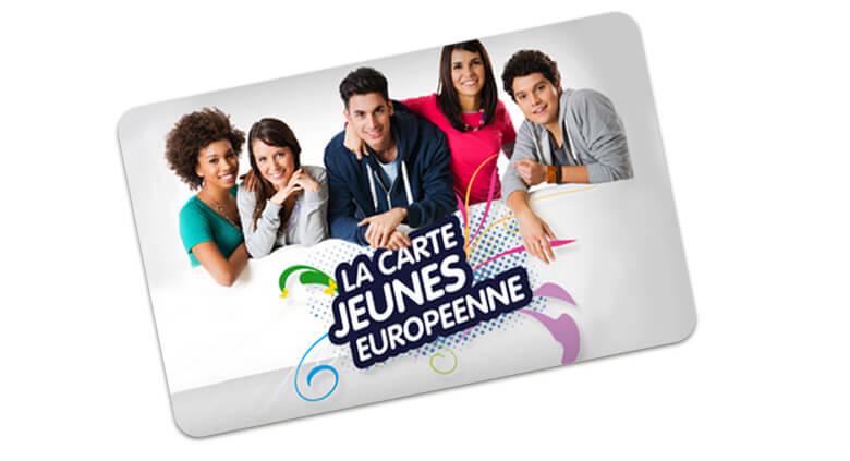 Visuel d'une carte Jeunes Européenne