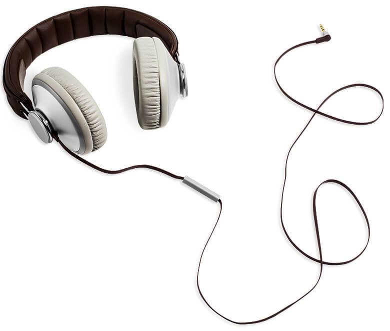 Visuel d'un casque audio