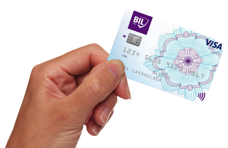 Visuel de la carte de crédit VISA Classic